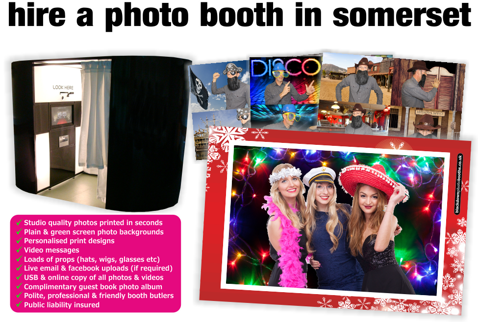 Somerset Photobooth & Photo Booth Hire, Somerset